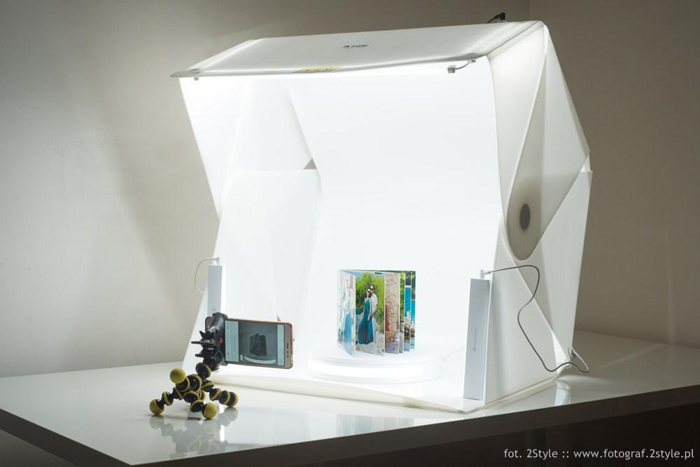 Fotografia produktów telefonem - zdjęcia obrotowe 360