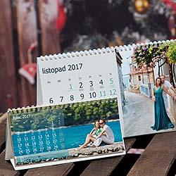 Kalendarz biurkowy z własnych zdjęć