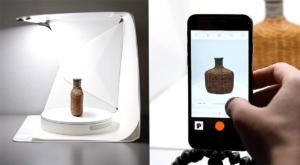 Przenośne studio do fotografii produktów