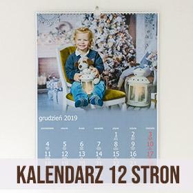 Kalendarz ze zdjęć 12 stron