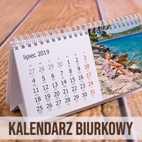 Kalendarz biurkowy ze zdjęć
