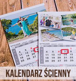 Kalendarz ścienny z własnych zdjęć