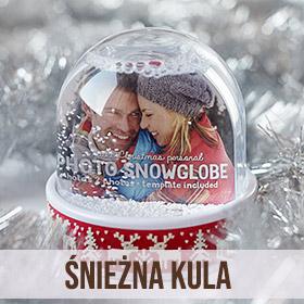 Śnieżna kula ze zdjęciem